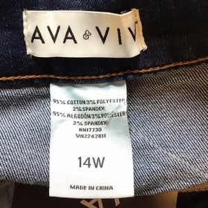 Ava & Viv Skirts - NWT Ava & Viv denim skirt